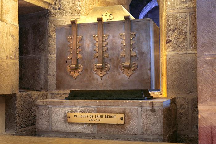 Reliques Saint Benoit