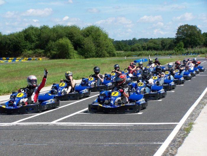 Karting 45 – Départ karting