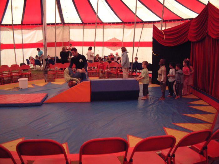 ateliers de cirque pour les écoles