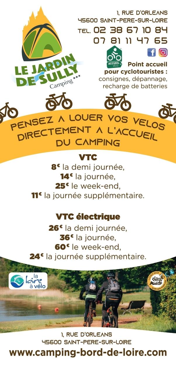 Flyer location vélo