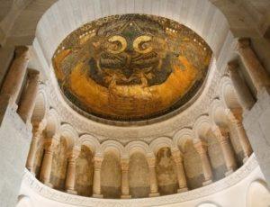 Mosaique de l'oratoire Carolingien