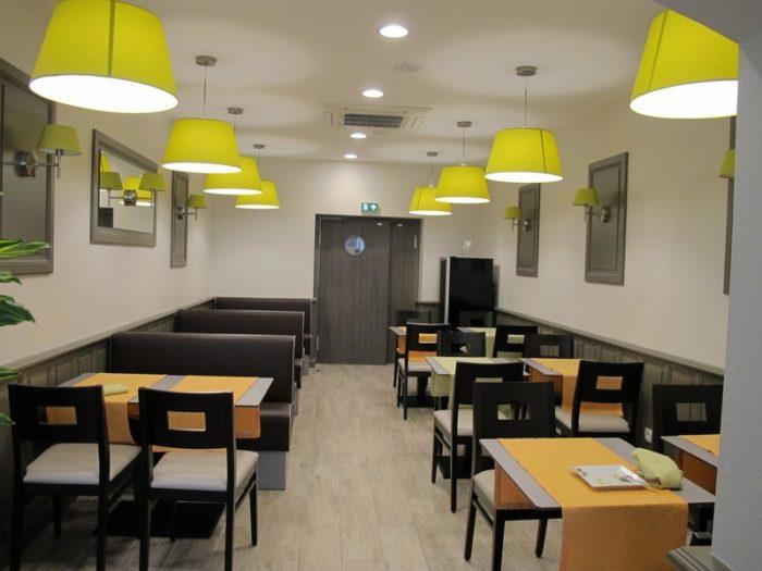 Salle de restaurant Entre Loire et Sologne