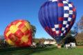 Gonflage de la montgolfière Positive Altitude
